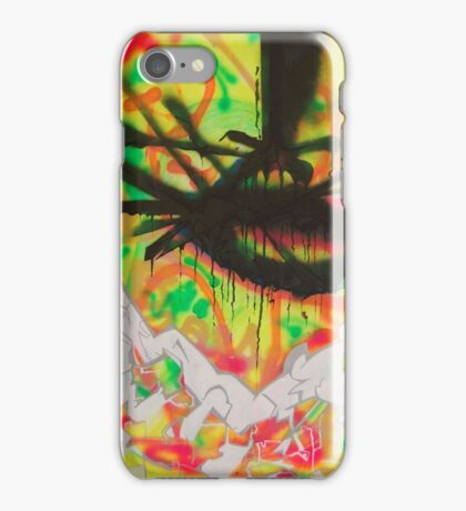 Schwarz / Weiß - Painting iPhone Case/Skin