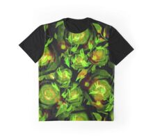 Seamless design abstraction Rose.  Graphic T-Shirt