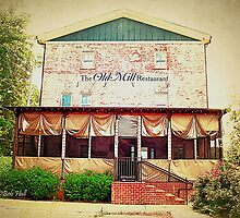 """The Old Mill Restaurant""... prints and products by © Bob Hall"