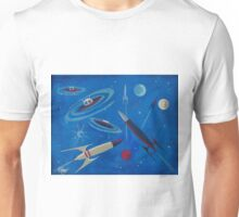 Space Ship  Unisex T-Shirt