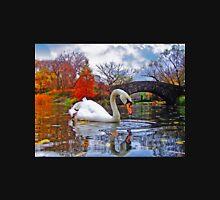 White Swan Under Bridge Unisex T-Shirt