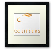 CC Jitters Framed Print
