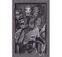 Batman TV Show Art Photographic Print