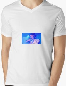 Tragically Hip's Gord Downie Mens V-Neck T-Shirt