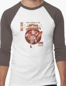 Captain Tightpants Men's Baseball ¾ T-Shirt