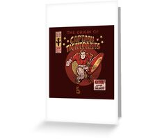 Captain Tightpants Greeting Card