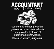 Funny Accountant Meaning T Shirt, Accountant Noun Definition Unisex T-Shirt