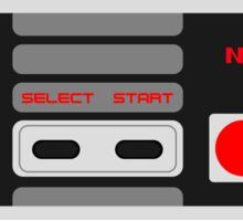Classic NES Controller Sticker