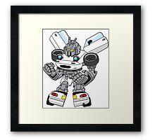 Miata Mx5 Mk1 - JDM Gundam Transformer bot Framed Print