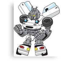 Miata Mx5 Mk1 - JDM Gundam Transformer bot Canvas Print