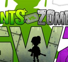 plants vs zombies garden warfare 2 Sticker