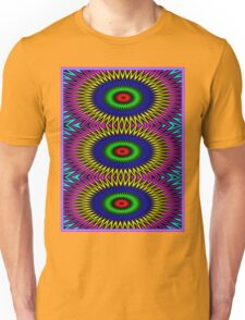 """""""PSYCHEDELIC MOTION"""" 3D Abstract Poster Print Unisex T-Shirt"""
