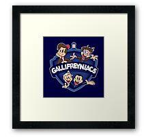 Gallifreyniacs Framed Print