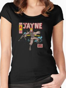 The Mighty Jayne Women's Fitted Scoop T-Shirt