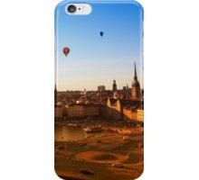 Sunset over Stockholm, SWEDEN iPhone Case/Skin