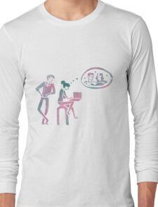 fangirl rainbow rowell Long Sleeve T-Shirt