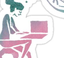fangirl rainbow rowell Sticker