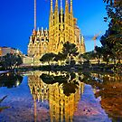 Nights of the Sagrada Familia by Hercules Milas