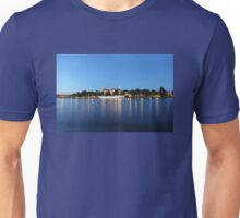 Sailing vessel in the harbour of Stockholm, Sweden Unisex T-Shirt