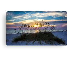 Rainbow Sky at Sunset Canvas Print