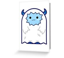 Babi Yeti Greeting Card