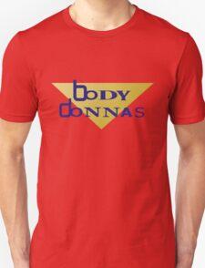Bodydonnas wrestling attire Unisex T-Shirt