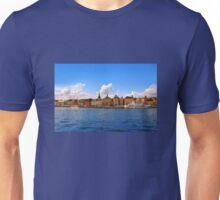 Panorama of Gamla Stan in Stockholm, Sweden Unisex T-Shirt