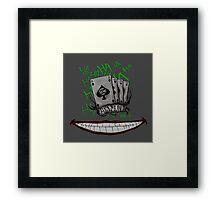 Joker Tattoos Framed Print