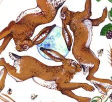 The Three Hares Sticker