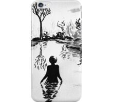 Lady in the Lake iPhone Case/Skin