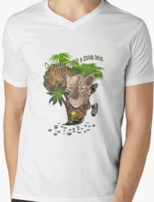 Only Hunt with a Zoom lens Mens V-Neck T-Shirt