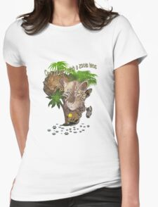 Only Hunt with a Zoom lens Womens Fitted T-Shirt