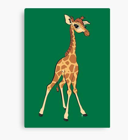 You're Having A Giraffe! Canvas Print