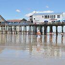 Lowest Tide...Old Orchard Beach & Pier by Poete100
