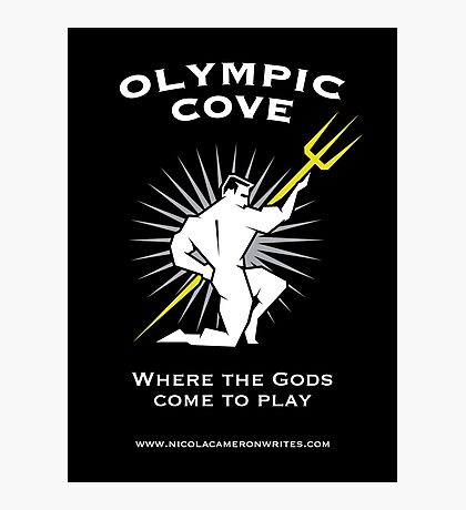 Olympic Cove - Where the Gods Come to Play (Dark) Photographic Print