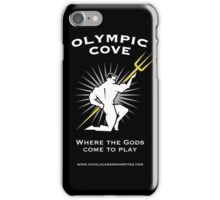 Olympic Cove - Where the Gods Come to Play (Dark) iPhone Case/Skin