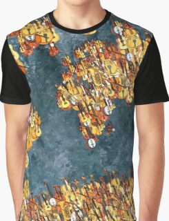 World Music Graphic T-Shirt