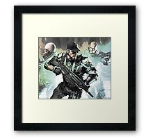 Men with Guns Framed Print
