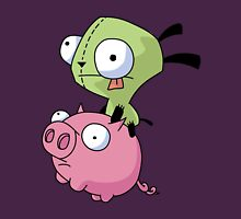 Gir Riding Pig  Unisex T-Shirt
