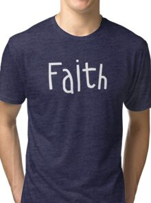 Faith Tri-blend T-Shirt