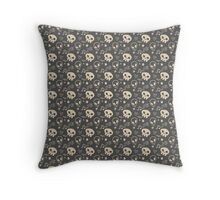 Punk pattern Throw Pillow