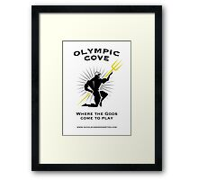 Olympic Cove - Where the Gods Come to Play (Light) Framed Print