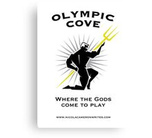 Olympic Cove - Where the Gods Come to Play (Light) Canvas Print