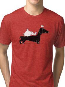bookbook club Tri-blend T-Shirt