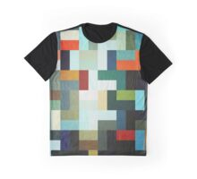 Abstraction #046 Multicolored Blocks I Graphic T-Shirt