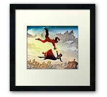 If You Fall I Shall Catch You Framed Print