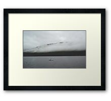 Alone to better think of you Framed Print