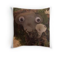 Jr. Jelly Tooth Throw Pillow