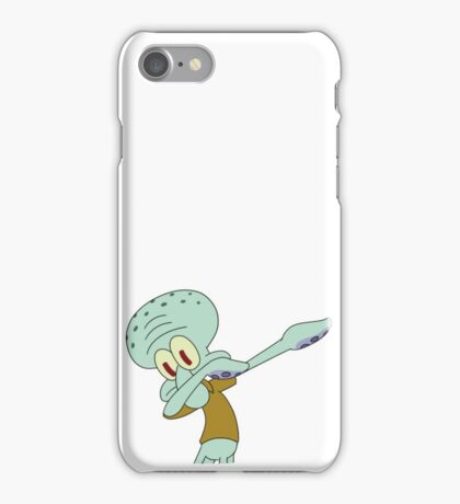 squidward dab  iPhone Case/Skin