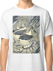 Raven, libra and a scorpio. Classic T-Shirt